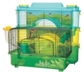Hamster Cages With Slides
