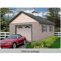 1 Car Garage Kits