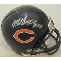 Quality Mike Singletary Autographed Chicago Bears Mini Helmet for sale