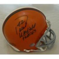 China Paul Warfield Autographed Cleveland Browns Mini Helmet on sale