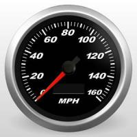 "Quality 3-3/8"" Speedometer for sale"