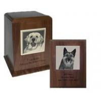 Memorial Plaque And Urn