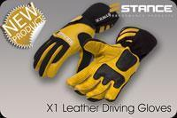 Quality STANCE X1 Leather Driving Gloves for sale