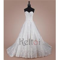 Quality 2015 sweetheart sweep train wedding dresses AT2980 for sale