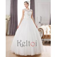 Quality DB17 Ball Gown Floor Length Lace Wedding dress for sale