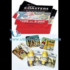 Buy square paper coaster beer coaster at wholesale prices