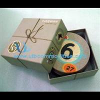 Quality pulp paper coaster for sale