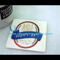 Quality Promotional Absorbent Paper Coaster for sale