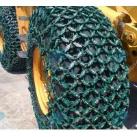 Quality Protection function steel 20.5/70-16 tractor tire chains used for minging for sale