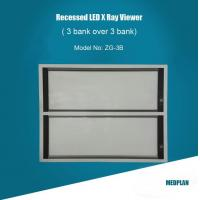 Buy cheap Recessed 3 over 3 bank LED Film Viewer from wholesalers