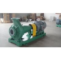 Quality IHF Fluorine plastic lining chemical centrifugal pump for sale