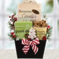 Quality Holiday Wags Dog Gift Basket for sale