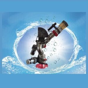 Buy Automatic scanning shooting water high-altitude water cannon at wholesale prices