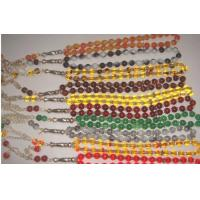 Quality yellow agate prayer beads for sale