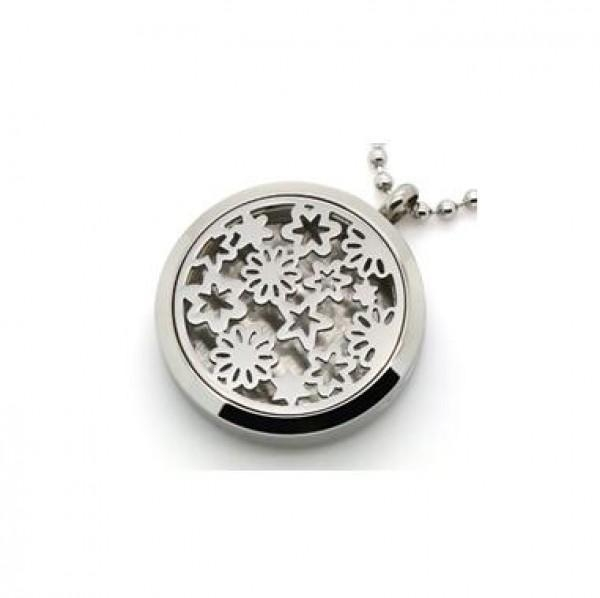 Buy Aromatherapy Essential Oils Diffuser Locket Pendant Necklace at wholesale prices