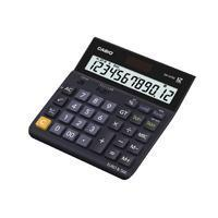 Quality Casio 12 Digit Landscape Tax/Currency Calculator Black DH-12TER-S-EH for sale