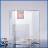 Quality Japanese pan cake food grade folding plastic clear box for sale