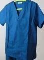 Buy 35% Cotton 65% polyester Custom Navy Blue Scrubs For Hospital at wholesale prices