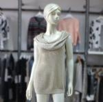 Buy Sleeveless Big Cowl Neck Sweater 1704076 at wholesale prices
