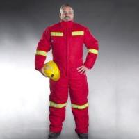 Buy cheap 100%Cotton Winter Padded Work Suit with 3M Reflective Tape Coverall from wholesalers