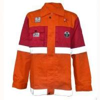 Buy cheap Custom Reflective Safety Cotton Fire Retardant Jacket for Men Clothing from wholesalers