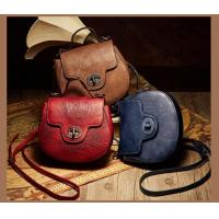 China Leather&Canvas product Fashionable Cowhide Genuine Leather YKK Zipper Hand-made Handlbag on sale