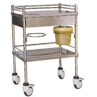China ABS Hospital Crash Cart/trolley IV Hospital Treatment Trolley Abs Medical Emergency Trolley on sale