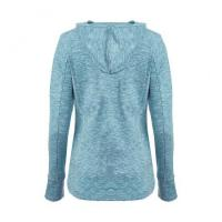 Buy cheap Blue Fitted Jersey Hoodie from wholesalers