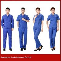 Buy cheap blue color TC 65% polyester 35% cotton working wears(W15) from wholesalers