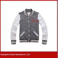 Buy cheap Custom made cotton high quality Men Full Zip Jacket Sweaters(T09) from wholesalers