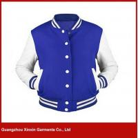 Buy cheap Custom Men's Cotton Hoodie Baseball Varsity Jacket in different colors (T10) from wholesalers