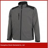 Buy cheap best seller good quality thick softshell black jackets from wholesalers