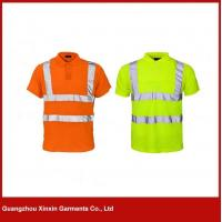 Buy cheap 3M reflective orange hi vis polo shirt W46 from wholesalers