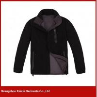 Buy cheap Custom made soft polar fleece sport softshell jacket for men (J70) from wholesalers