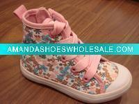 China Sport canvas shoes for Girls all size Baby Zipper Pink on sale