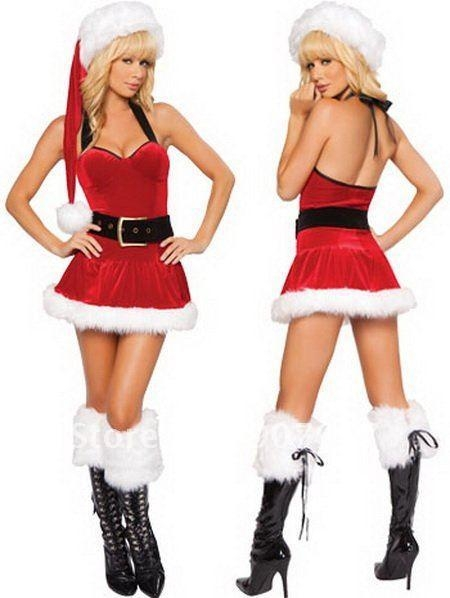 Buy Stage Costumes Sexy Christmas Night Club Dance Wear at wholesale prices