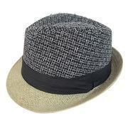 Quality 2018 SS Navy Blue Formal Hat Straw Hat for sale