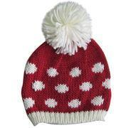 Buy cheap Youth's knitted hats, made of 100% acrylic from wholesalers