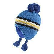 Buy cheap Babies' knitted hat with tassels and big pom pom from wholesalers