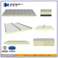Quality Insulated Filler High Density PU Sandwich Panel for sale