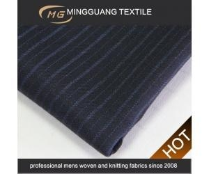 China Black pinstripe affordable suits fabric for party