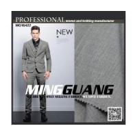 Quality MG16422 special grey melange color suit fabric for sale