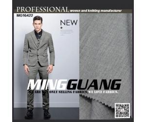 China MG16422 special grey melange color suit fabric
