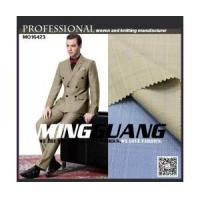 Quality MG16423 New check hopsack tr suit fabric china manufacturer for sale