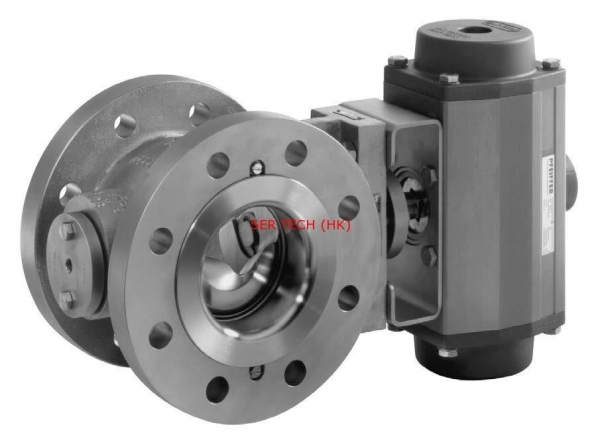 China SAMSON Series 3331 Type3331/31a Pneumatic Control Butterfly Valve