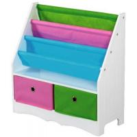 Quality Basics Book Holder with 2 Bins-Bookcases,Cabinets & Shelves for sale
