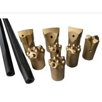 Handheld drilling tools :Tapered drill bits and drill rods