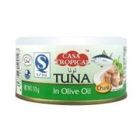 Quality canned salmon in smoke 170g for sale