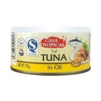 Quality 170g canned tuna Fillets in oil for sale