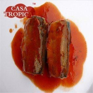 China 125g canned sardines in tomato sauce